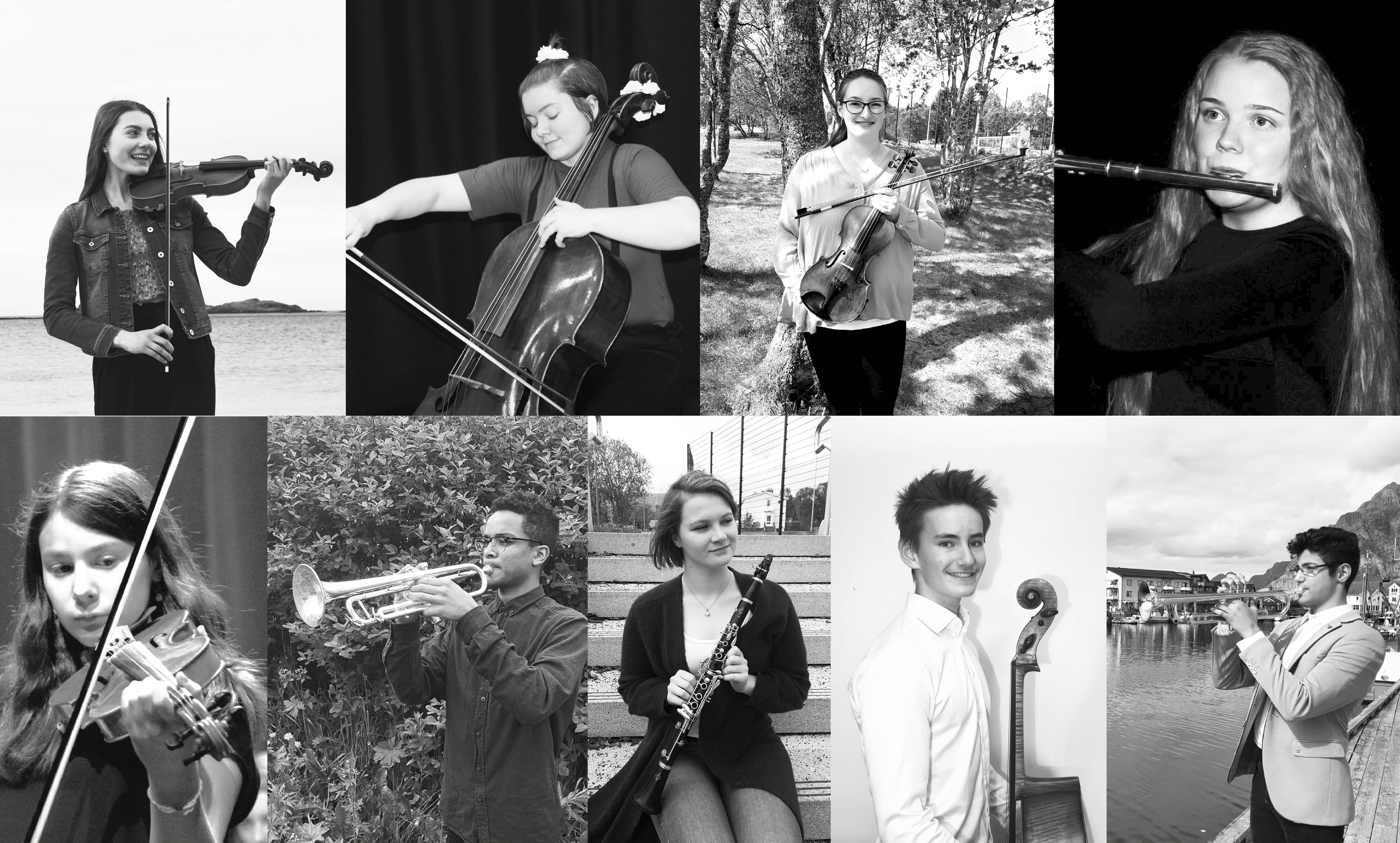 «Unge Talenter» – LVO med lokale solister på Leknes