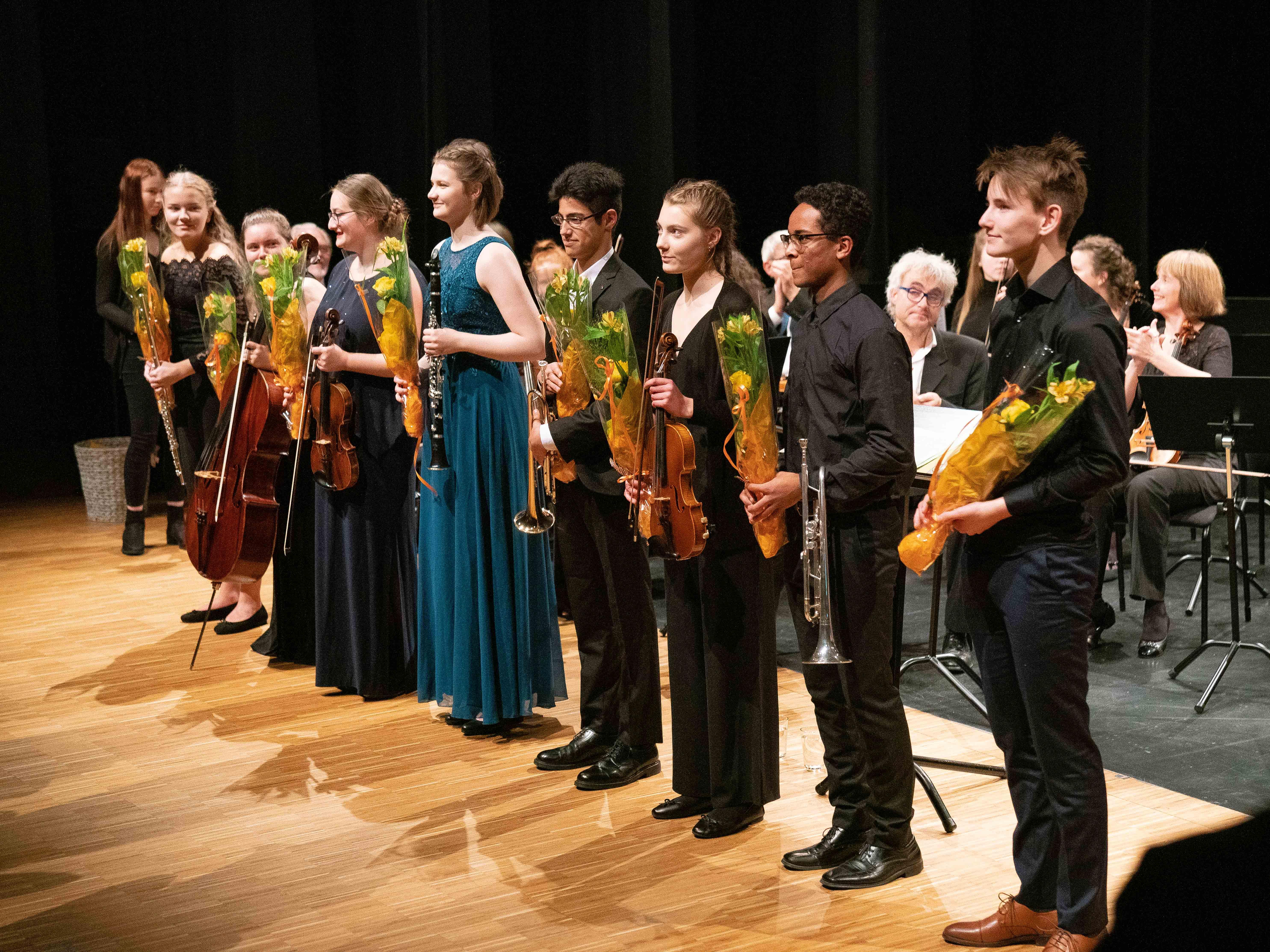 Stor suksess for åtte unge solister